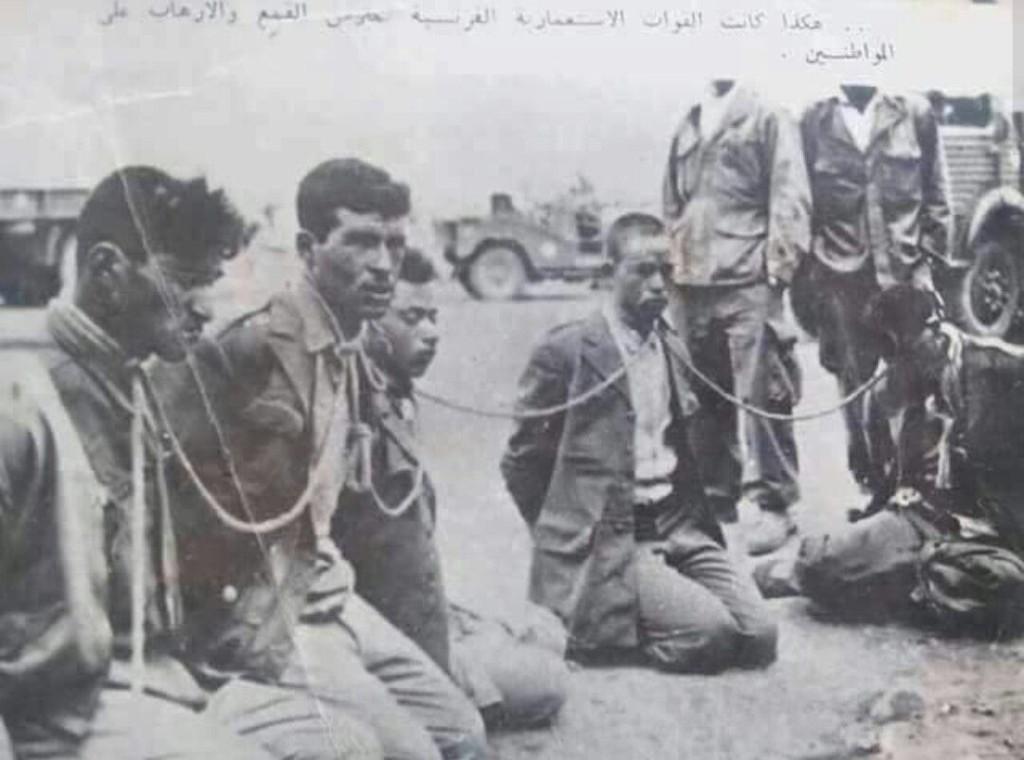 Prisonniers Fellaghas