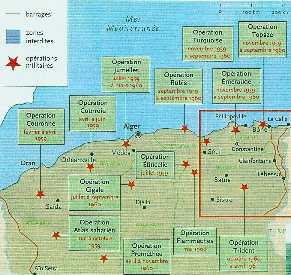 OPERATIONS MILITAIRES EN ALGERIE