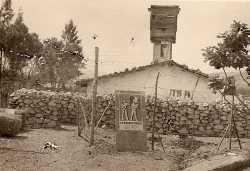 Ouadah - Poste militaire  en 1958