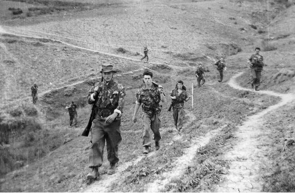 Patrouille en Kabylie