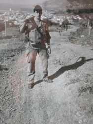 Retour de patrouille du djebel  descente vers TENES