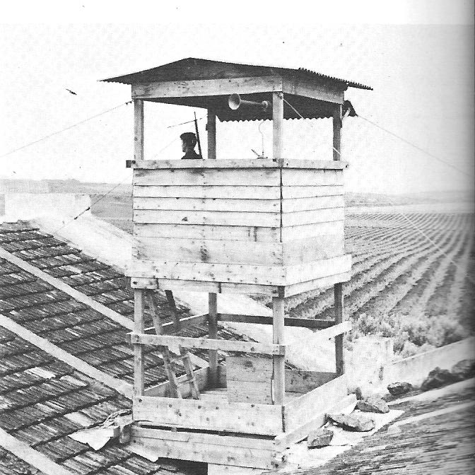 Tour de guet dans une ferme
