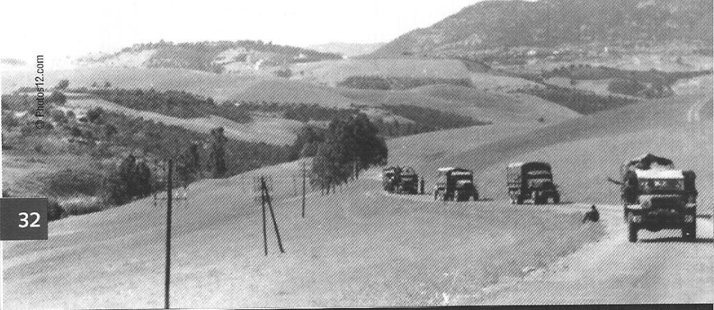 Convoi en direction du Djebel CHELIA