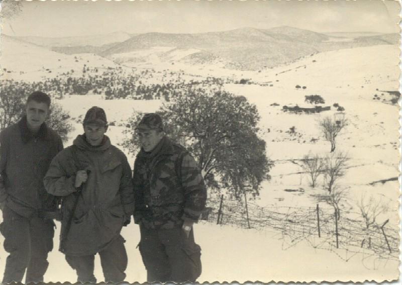la kabylie sous la neige
