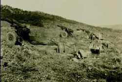 Village de LAMY l'Artillerie en position