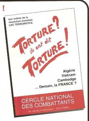 Torture - Ils ont dit Torture