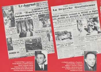 Le JOURNAL d'ALGER et la DEPECHE QUOTIDIENNE