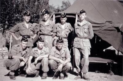 Photo-titre pour cet album: 31ème Bataillon de Chasseurs à Pieds               Appelé 31ème Groupe de Chasseurs à Pieds entre 1955 et 1960