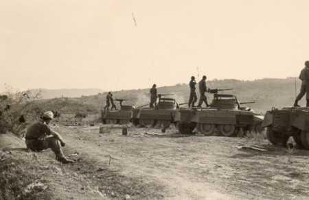 ROVIGO -1960  Tir au canon au Camp du Lido