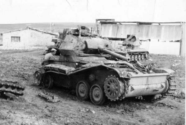 un panzer ...