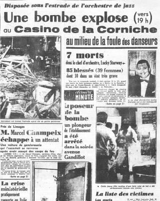 Photo-titre pour cet album: Bombe au Casino de la Corniche