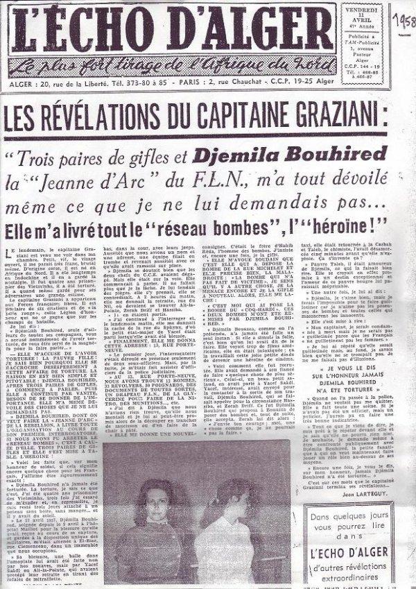 Capitaine Graziani 1926/1959 Djemila_BOUIREB