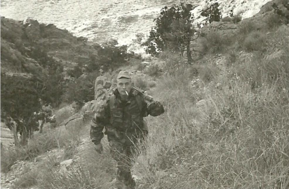 MDL Claude Roger ANDRE.  Crapahut au sud de Biskra