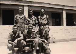 Fusiliers marins du Poste Le Signal en1960.
