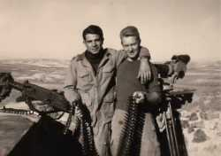 Fusiliers marins en 1960.