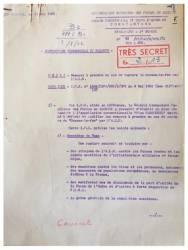 Photo-titre pour cet album: Directives Secrètes du 19 Mars