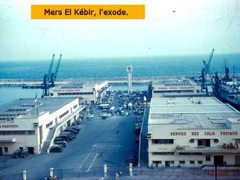 MERS-EL-KEBIR - L'EXODE