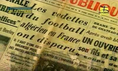Photo-titre pour cet album: Désertion des Footballeurs algériens en France