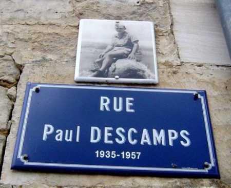4 Novembre 1957 Mort au combat du Hussard Paul DESCAMPS