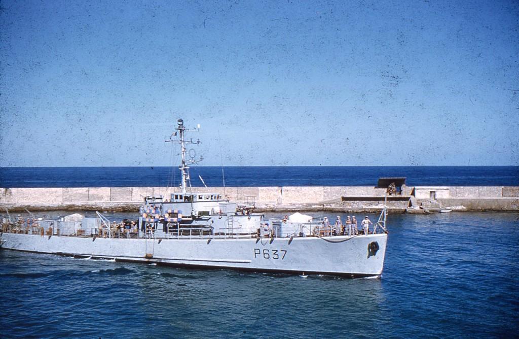 """Le P637 """"ETOURDI"""" entre au Port ----  Site Internet de """"l'ETOURDI"""""""