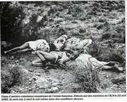 23 Avril 1962 Assassinat des Harkis et Moghaznis  de Bou Alam dans d'atroces conditions