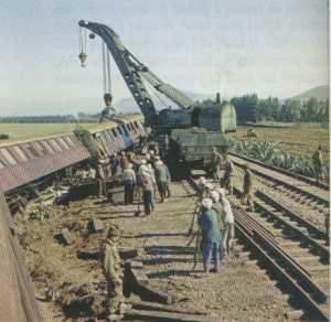 7 MARS 1959 - Le Train 3904  PK10 entre BONE et SAINT CHARLES