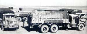 Un Berliet GBO au Sahara en 1959