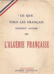 Photo-titre pour cet album: Livret remis aux Appelés  arrivant en ALGERIE