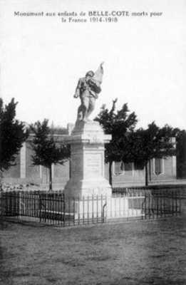BELLE-COTE Le Monuments aux morts