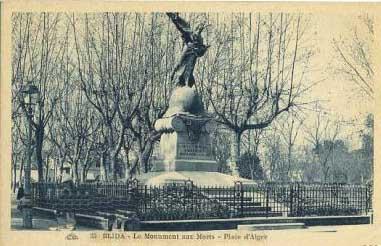 BLIDA   Le Monuments aux Morts