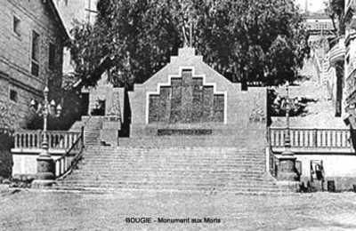 BOUGIE Le Monument aux Morts