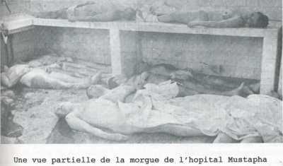 Rue d'Isly le 26 mars 1962 ---- la Morgue de MUSTAPHA