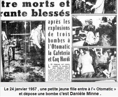 Photo-titre pour cet album: 24 Janvier 1957  L'Attentat au bar de l'OTOMATIC
