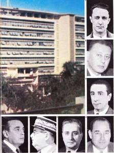Photo-titre pour cet album: Les Responsables au 1er Novembre 1954