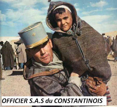 Officier SAS dans le Constantinois