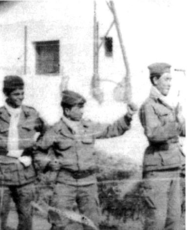 Trois Moghaznis de la SAS en 1960