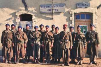 SAS de PIRETTE en KABYLIE en 1956 Sergent Ahmed CACI, ancien d'Indochine