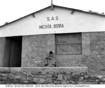 SAS de MECHTA BERRA dans le Constantinois Soldat Arthur SMET