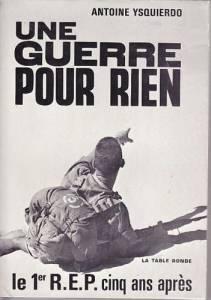 Photo-titre pour cet album: Une Guerre pour Rien  Antoine YSQUIERDO