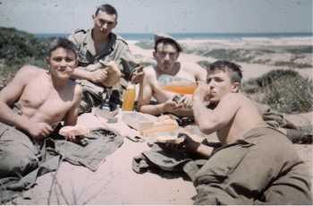 Auchamp de tir de Courbet Marine en1963
