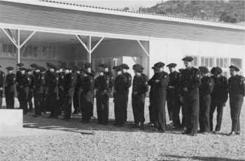 Dernier rassemblement, en 1960, des chasseurs de la 58 /2A