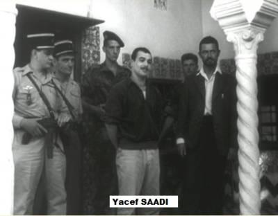 Photo-titre pour cet album: Yacef SAADI